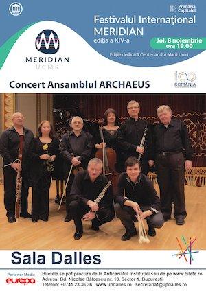 Concert Ansamblul Archaeus