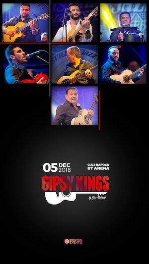 Gipsy Kings in concert la Cluj-Napoca