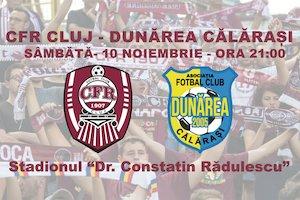 CFR 1907 Cluj - Dunarea Calarasi - Liga 1 Betano