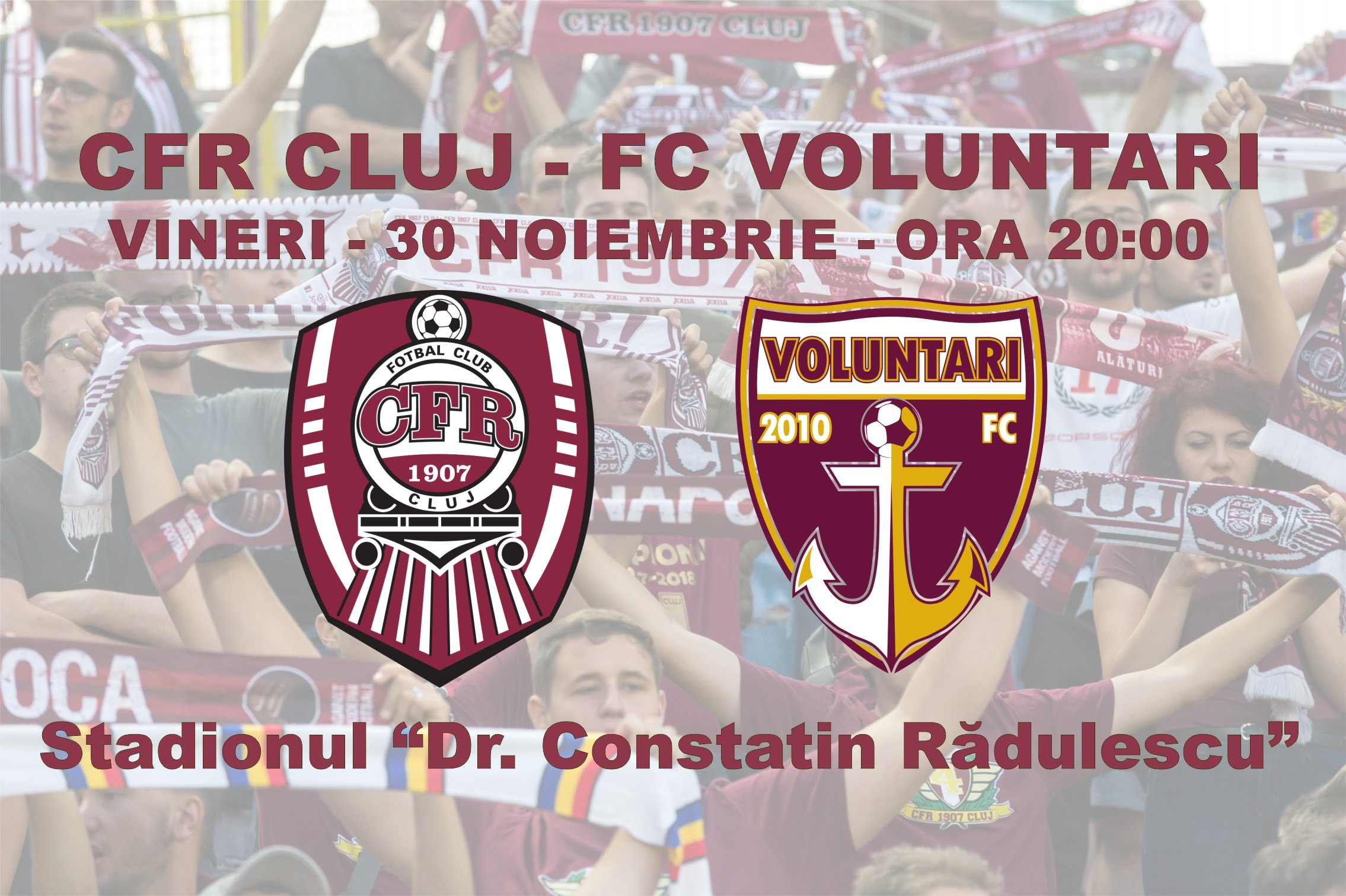 Rezumat: CFR Cluj - Voluntari 4-0 Liga 1 Etapa 22 - YouTube