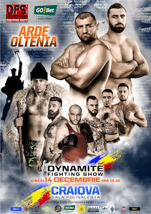 Catalin Morosanu prezinta: Dynamite Fighting Show Craiova