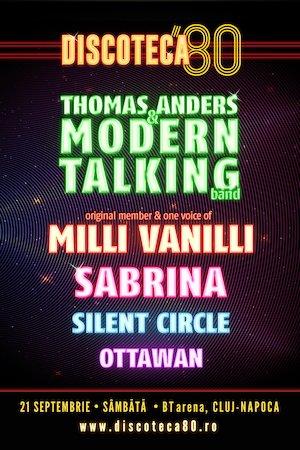 DISCOTECA '80 – THOMAS ANDERS & MODERN TALKING, MILLI VANILLI, SABRINA, SILENT CIRCLE, OTTAWAN