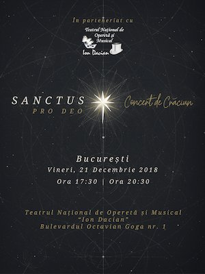 Sanctus Pro Deo - Concert de Craciun
