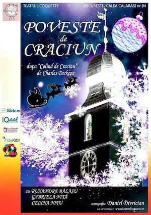 Bilete la  Poveste de Craciun la teatrul Coquette