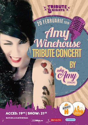 Amy Winehouse Tribute Show by Why Amy