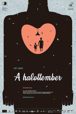 A halottember