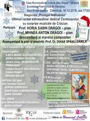 Bilete la  Prologul Festivalului