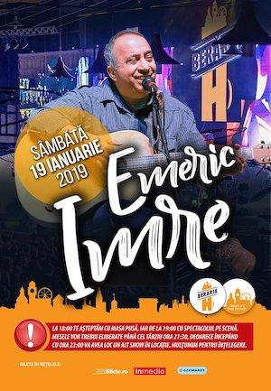 bilete Emeric Imre in concert la Beraria H