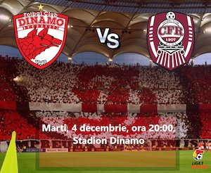 Bilete la  FC Dinamo Bucuresti - CFR 1907 Cluj