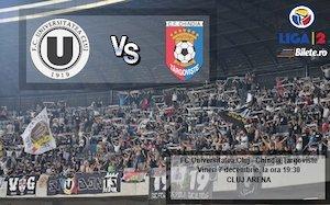 FC Universitatea Cluj - Chindia Targoviste