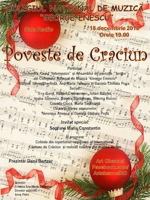 Poveste de Craciun - Colegiul National de Muzica George Enescu