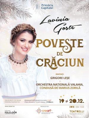 Concert Lavinia Goste – Poveste de Craciun