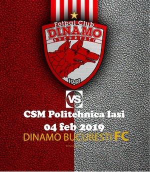 bilete FC Dinamo Bucuresti - Poli Iasi