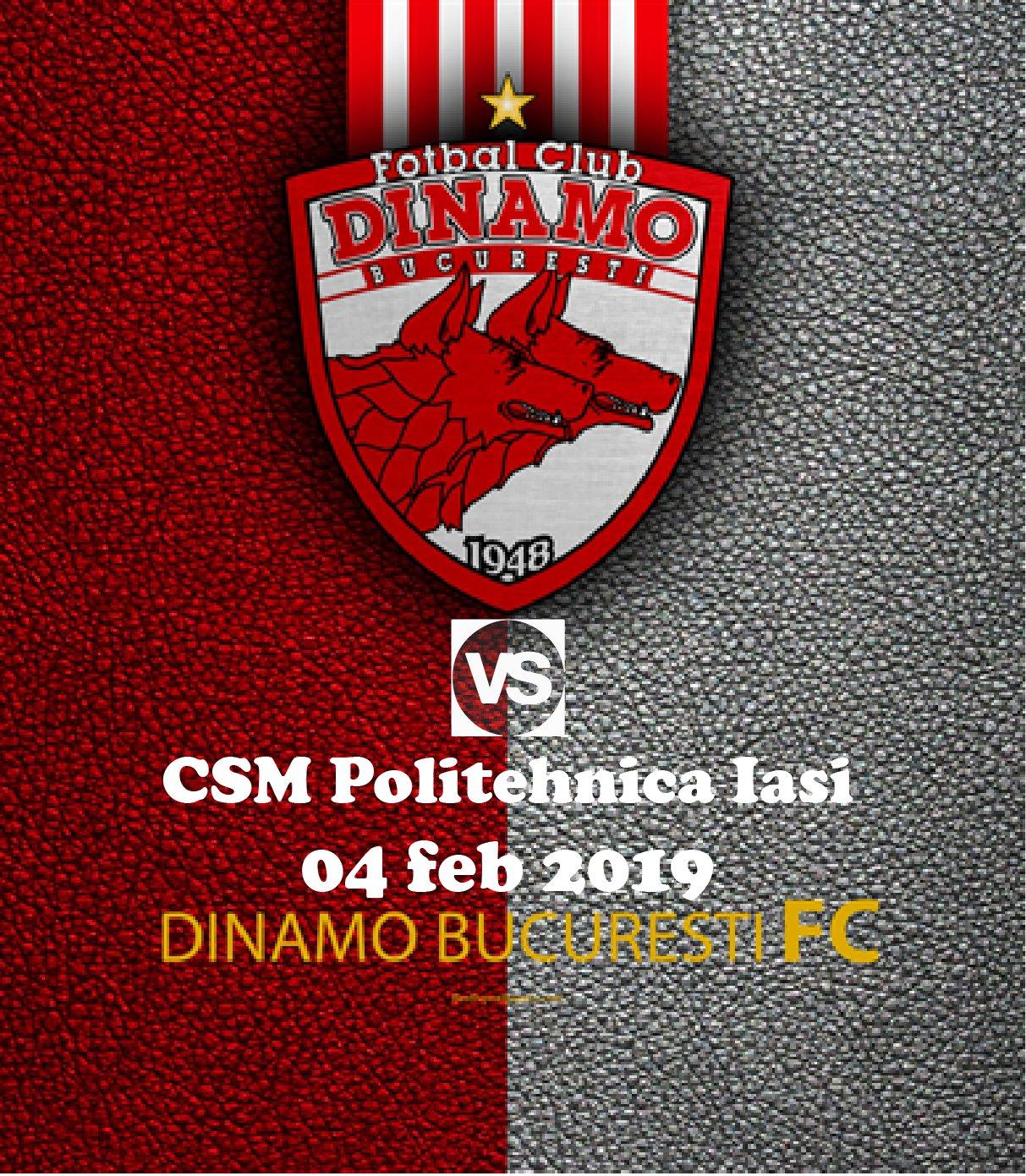 Ponturi pariuri Dinamo Poli Iasi - Romania Liga 1 - 4 ... |Dinamo- Poli Iasi