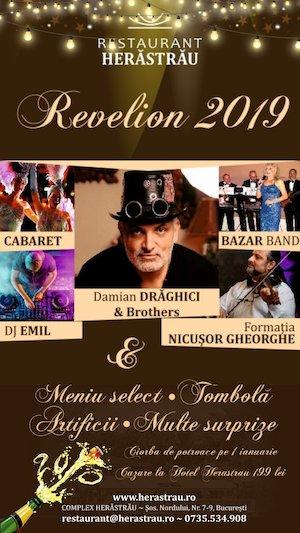 Revelion cu Damian Draghici & Brothers la Restaurant Herăstrău