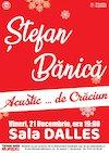 Concert Acustic. .. de Craciun - Stefan Banica