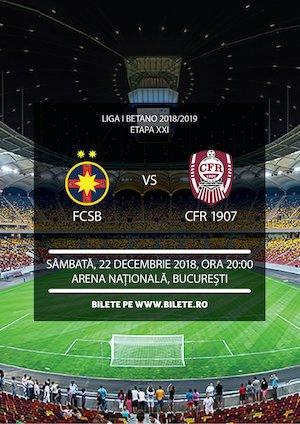 FCSB - CFR 1907 Cluj