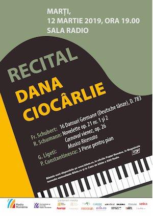 bilete Recital De Pian - Dana Ciocârlie