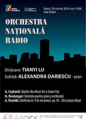 Alexandra Dariescu- Tianyi Lu- Orchestra Naţională Radio