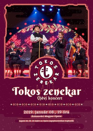Tokos zenekar újévi koncert