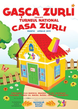Bilete la  Gasca Zurli - Casa Zurli