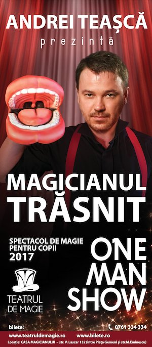 bilete Magicianul Trasnit