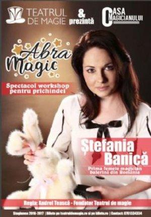 Bilete la  Abramagic - Spectacol de magie pentru prichindei
