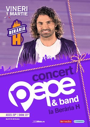 Bilete la  Concert Pepe