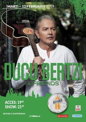 Bilete la   Concert Ducu Bertzi & Friends