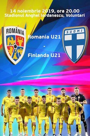 Bilete la  Romania U21 - Finlanda U21 - Calificare Campionatul European