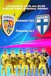 bilete Romania U21 - Finlanda U21 - Calificare Campionatul European