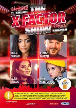 The X Factor Show #live @ Beraria H