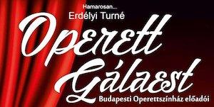Operett Gálaest a Budapesti Operettszínház előadóival