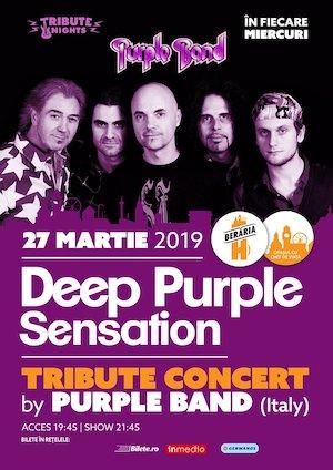 Deep Purple Sensation // Tribute Show by Purple Band