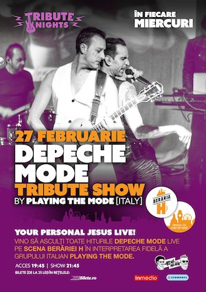 Bilete la  DEPECHE MODE Tribute Show by Playing The Mode [Italy]
