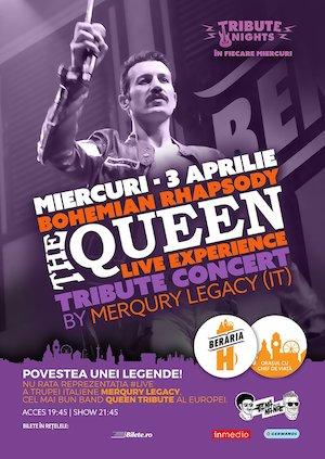 Bohemian Rhapsody - QUEEN Tribute Show by Merqury Legacy [Italy]
