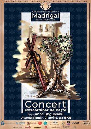 bilete Concert extraordinar de Pasti Corul National de Camera Madrigal - Marin Constantin