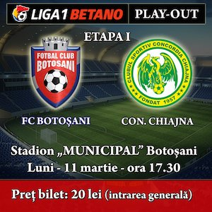 FC Botosani - Concordia Chiajna
