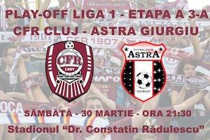 CFR 1907 Cluj - AFC Astra Giurgiu
