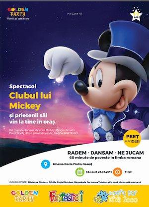 Bilete la  Clubul lui Mickey