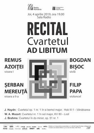 Cvartetul AD Libitum - Recital