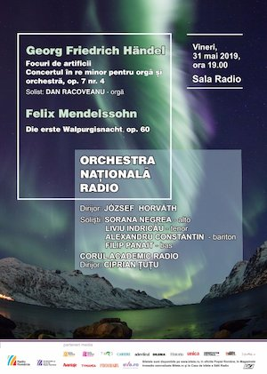 Bilete la  Orchestra Nationala Radio - Orga in Concert