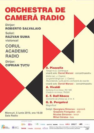 bilete Razvan Suma - Orchestra de Camera Radio