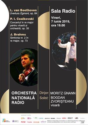 bilete Orchestra Nationala Radio - Ceaikovski, Brahms