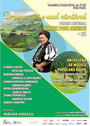 Bilete la  Concert Aniversar Nineta Popa - Orchestra De Muzica Populara