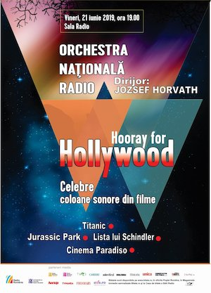 Bilete la  Hooray for Hollywood - Orchestra Nationala Radio