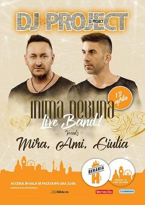 DJ Project - Inimă nebună - LIVE w. Mira, Ami, Giulia