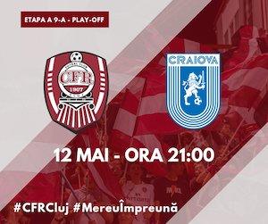 CFR 1907 CLUJ - Universitatea Craiova