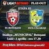 FC Botosani - FC Dunarea Calarasi