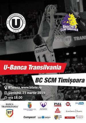 U-Banca Transilvania - BC SCM Timisoara